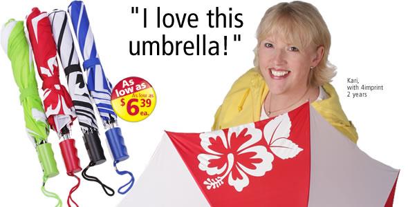 MonoGraFX Silhouette Auto Open Umbrella #C105028