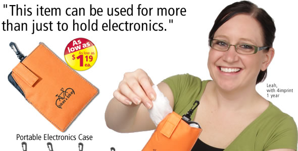 Portable Electronics Case #C9865