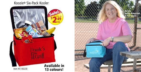 Koozie Six-Pack Kooler #C8772