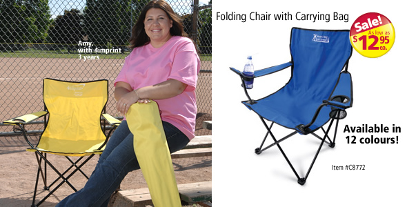 Folding Chair with Carrying Bag #C8772