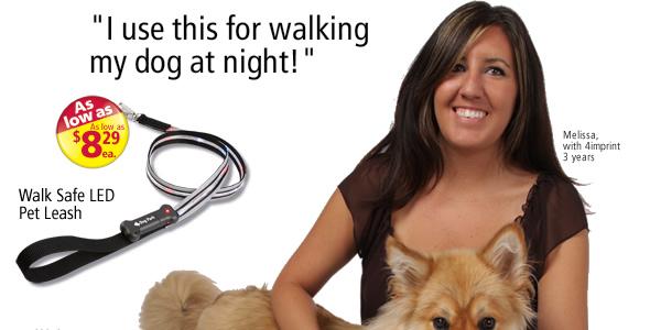Walk Safe LED Pet Leash #102076