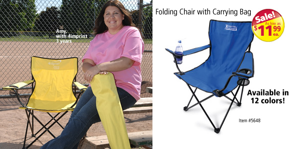 Folding Chair with Carrying Bag #5648