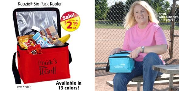 Koozie® Six-Pack Kooler #74001