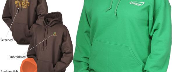 Gildan 50/50 Hooded Sweatshirt 7.75 oz. #100720