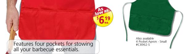 4 Pocket Apron-Large