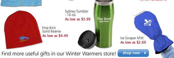 More winter warmers they're sure to appreciate!