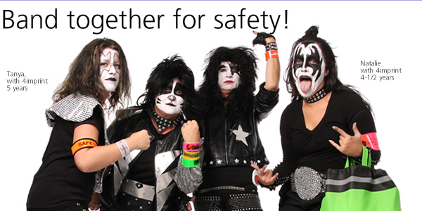 Band together for safety!