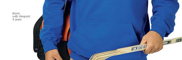 Gildan 50/50 Adult Hooded Sweatshirt - Embroidered - Colours