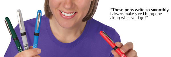 Bic Grip Rollerball Pen - Nickel