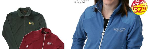 Recycled Polyester Full Zip Fleece Jacket