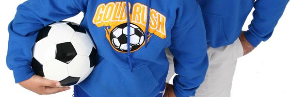 Gildan 50/50 Adult Hooded Sweatshirt- Applique Twill- Colour