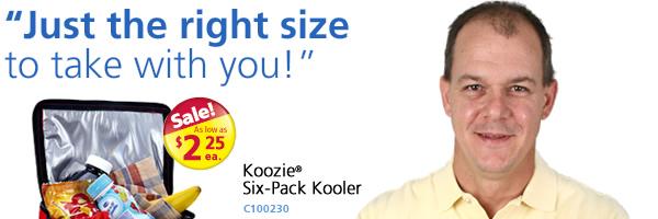 Koozie Six-Pack Kooler