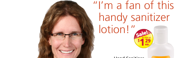 Hand Sanitizer Lotion - 1 oz. - Non Alcohol