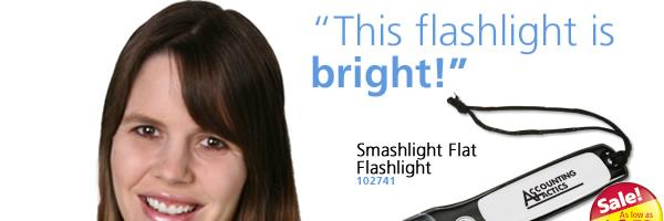 Smashlight Flat Flashlight