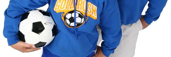 Gildan 50/50 Hooded Sweatshirt - Applique Twill - Colors