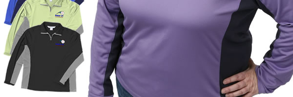 Dash UltraCool Pullover LS Sport Shirt - Ladies'