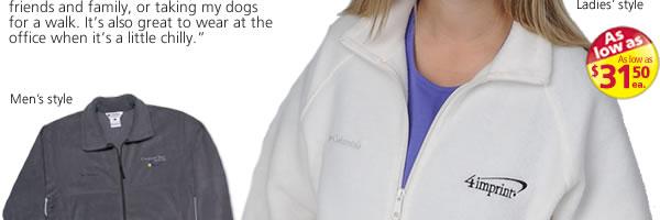 Columbia Full-Zip Fleece Jacket