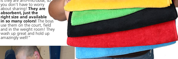 Fitness Towel w/ CleenFreek - Colors