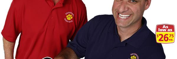 Vansport Recycled Drop-Needle Tech Polo - Men's