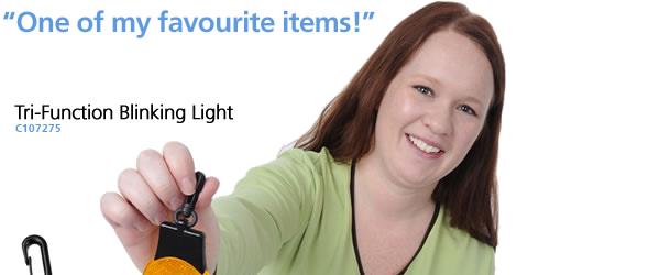 Tri-Function Blinking Light
