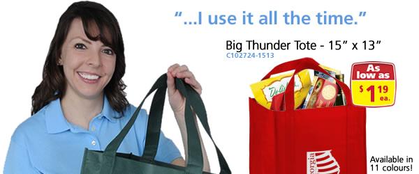 "Big Thunder Tote - 15"" x 13"""