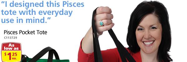 Pisces Pocket Tote