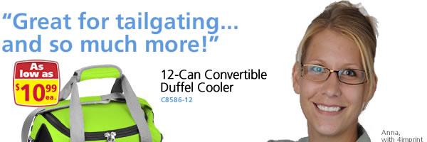 Convertible Duffel Cooler - 12 Can