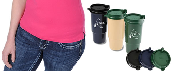 Insulated Auto Tumbler - 16 oz. - Recycled
