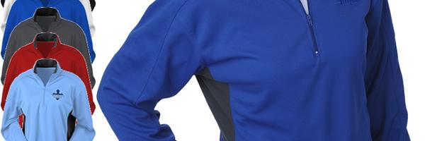 Blue Generation Half-Zip Performance Pullover