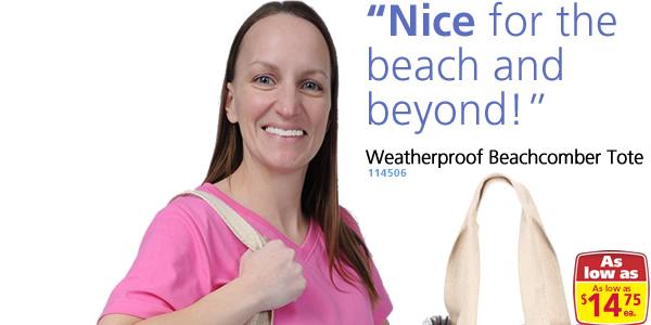 Weatherproof Beachcomber Tote