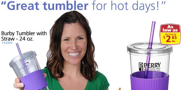 Burby Tumbler w/Straw - 24 oz.