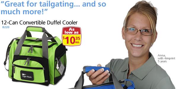 12-Can Convertible Duffel Cooler