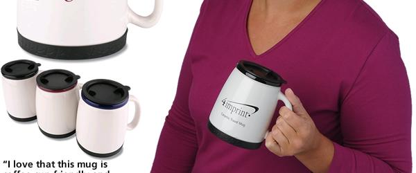 Ceramic Travel Mug - 18 oz.
