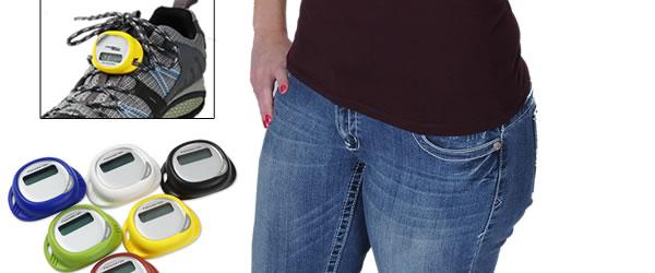 Simple Shoe Pedometer
