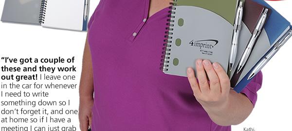 File-A-Way Notebook w/Pen - Classics