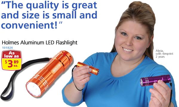 Holmes Aluminum LED Flashlight