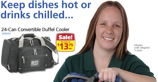 24-Can Convertible Duffel Cooler