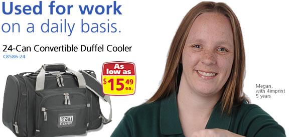 Convertible Duffel Cooler - 24 Can