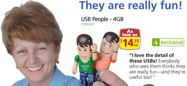 USB People - 4GB