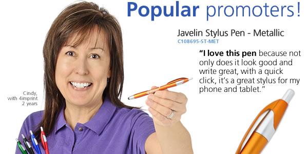 Javelin Stylus Pen - Metallic