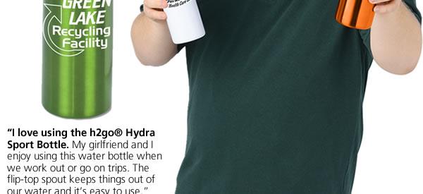 h2go Hydra Sport Bottle - 24 oz.