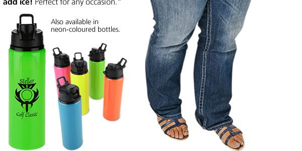 h2go Surge Aluminum Sport Bottle - 28 oz.