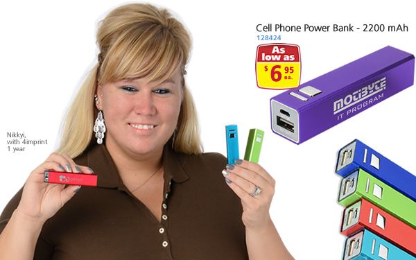 Cell Phone Power Bank - 2200 mAh