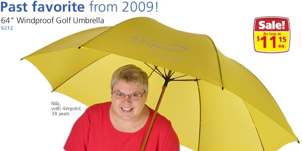"""64"""" Windproof Golf Umbrella"""