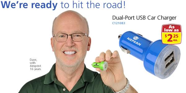 Dual-Port USB Car Charger