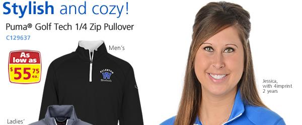 Puma Golf Tech 1/4 Zip Pullover