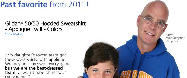 Gildan 50/50 Hooded Sweatshirt