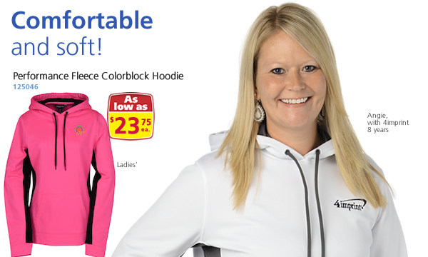 Performance Fleece Colorblock Hoodie