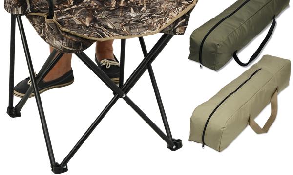 "Camo ""BIG'UN"" Folding Camp Chair"