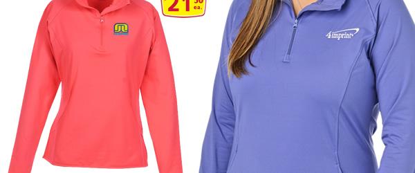 Sport-Wick Stretch 1/2 Zip Pullover